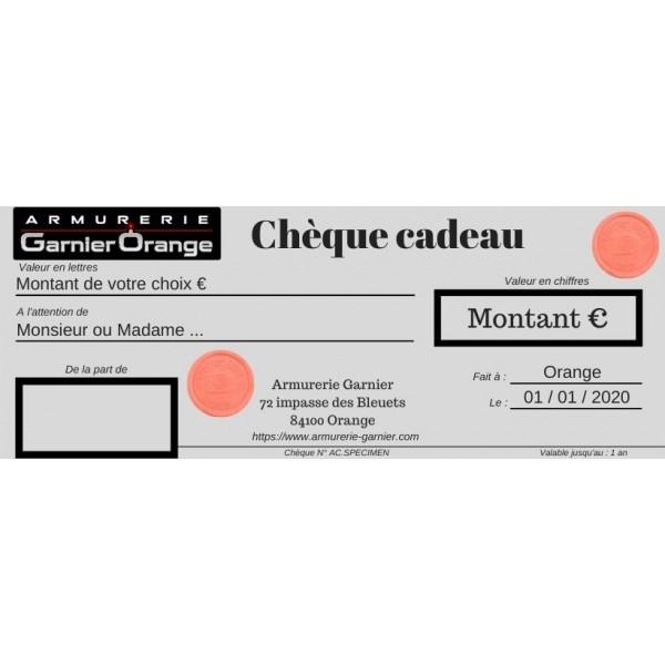 Chèque cadeau 380 euros ball-trap