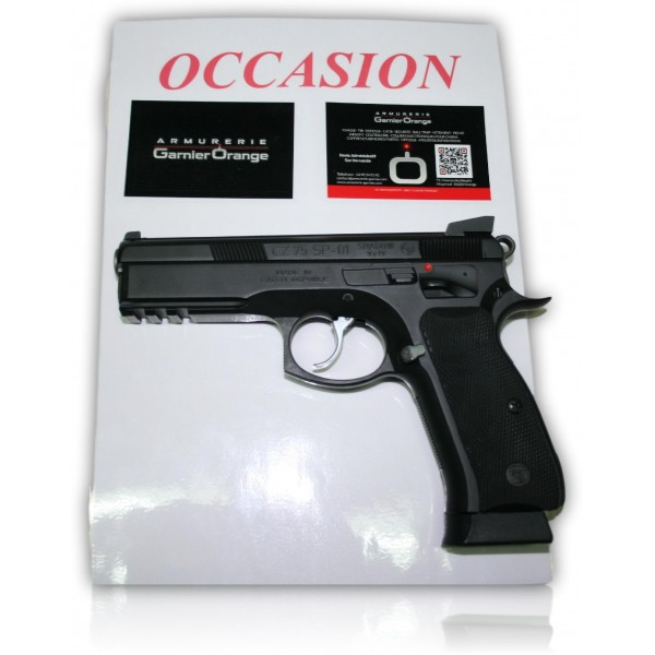 Pistolet CZ Shadow SP01 Cal. 9x19