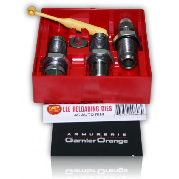 JEUX OUTIL LEE 45 AUTO RIMAVEC SHELL HOLDER 90808